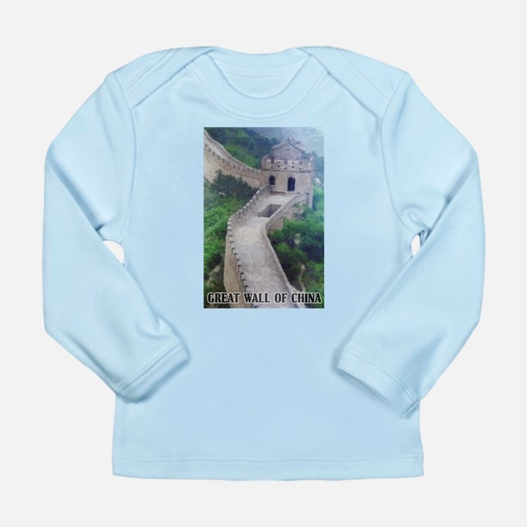 Great Wall Of China Long Sleeve Infant T-Shirt