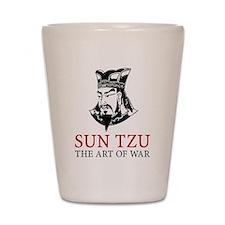 Sun Tzu Shot Glass
