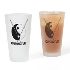 Acupuncture Pint Glass