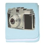 Vintage Camera baby blanket