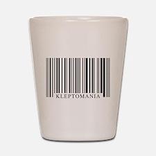 Barcode Kleptomania Shot Glass