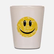 Vintage Happy Smiley Shot Glass