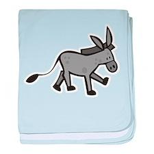 Cute Donkey baby blanket