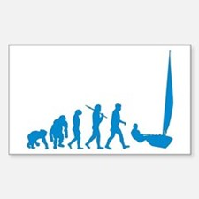 Dinghy Sailing Decal
