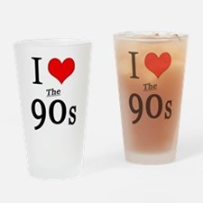 'I Love The 90s' Pint Glass