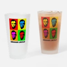 Abraham Lincoln Pint Glass