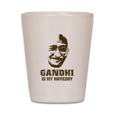 Gandhi Homeboy Shot Glass