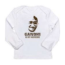 Gandhi Homeboy Long Sleeve Infant T-Shirt