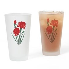 Carnation Pint Glass