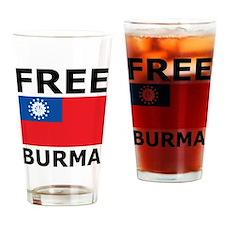 Free Burma Pint Glass