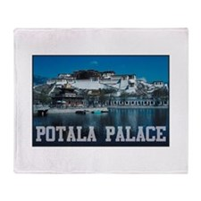 Potala Palace Throw Blanket