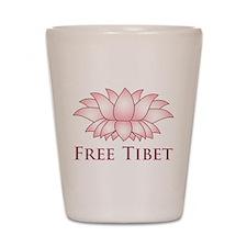 Lotus Free Tibet Shot Glass