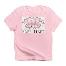 Lotus Free Tibet Infant T-Shirt