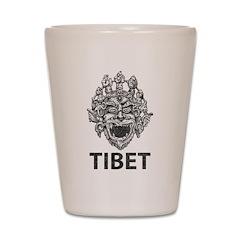 Tibetan Deity Shot Glass