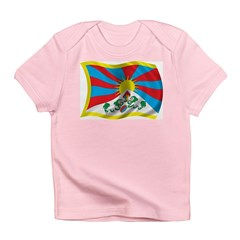Wavy Tibet Flag Infant T-Shirt