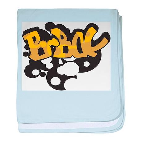 BBoy Graffiti baby blanket