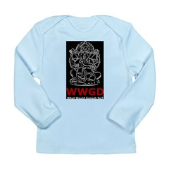 What Would Ganesh Do? Long Sleeve Infant T-Shirt
