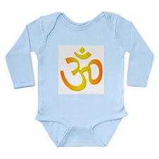 Om Long Sleeve Infant Bodysuit