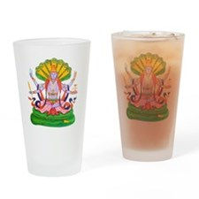 Hinduism Vishnu Pint Glass