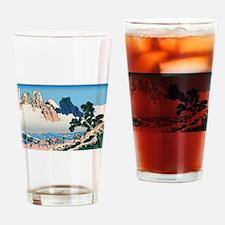 Hokusai Minobu River Drinking Glass