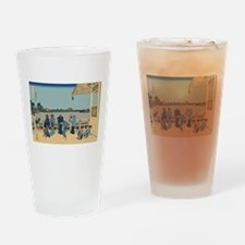 Hokusai Sazai Hall Drinking Glass