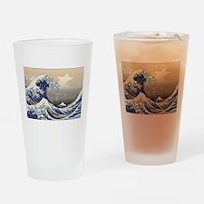 Hokusai The Great Wave Pint Glass