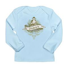 Buddha Japan Long Sleeve Infant T-Shirt
