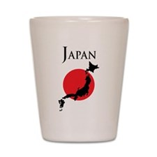 Map Of Japan Shot Glass