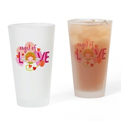 Angel Of Love Pint Glass