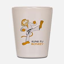 Kung Fu Monkey Shot Glass