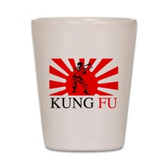 Kung Fu Shot Glass