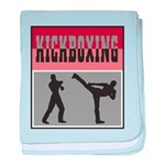 Kick boxing baby blanket
