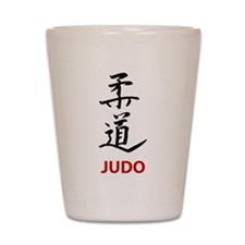 Judo Shot Glass