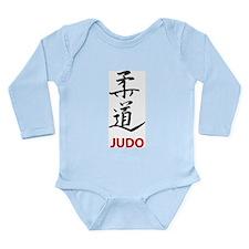 Judo Long Sleeve Infant Bodysuit