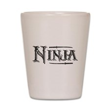 Vintage Ninja Shot Glass