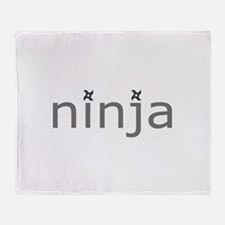 Ninja Throw Blanket