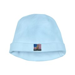 Peace In America baby hat