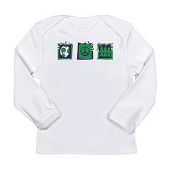 Peace Long Sleeve Infant T-Shirt
