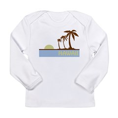 Hawaii Long Sleeve Infant T-Shirt