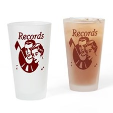 Records Pint Glass