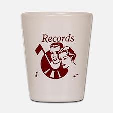 Records Shot Glass