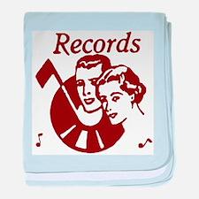 Records baby blanket