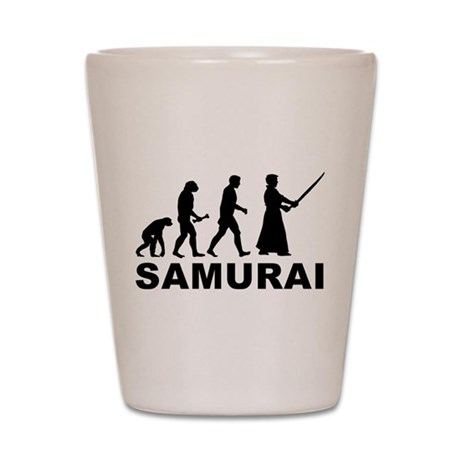 Samurai Evolution Shot Glass