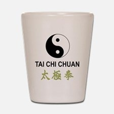 Tai Chi Shot Glass
