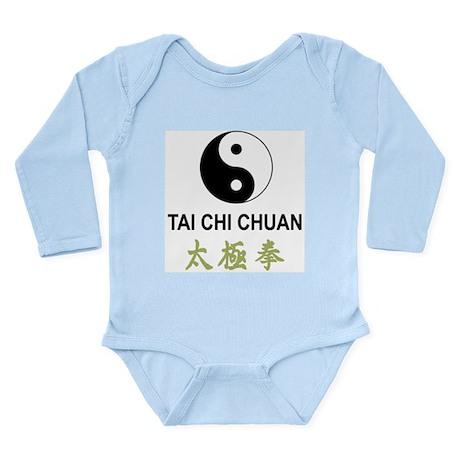 Tai Chi Long Sleeve Infant Bodysuit
