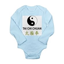 Tai Chi Long Sleeve Infant Bodysuit