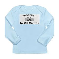 Tai Chi Master Long Sleeve Infant T-Shirt