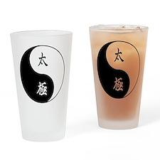 Taiji Pint Glass