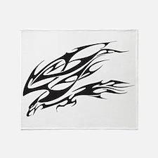 Eagle Tattoo Throw Blanket