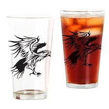 Eagle Tattoo Pint Glass